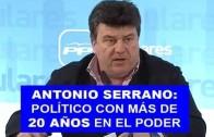 20 años en política…Y suma y sigue para Antonio Serrano