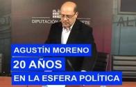 Agustín Moreno, un político aferrado a un sillón