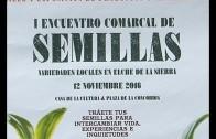 I Encuentro Comarcal de Semillas en Elche de la Sierra