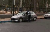 La Policía Local controla el uso del cinturón de seguridad