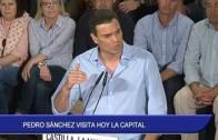Pedro Sánchez visita hoy la capital