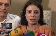 """Adriana Lastra apoya a los """"sanchistas"""" de Albacete"""