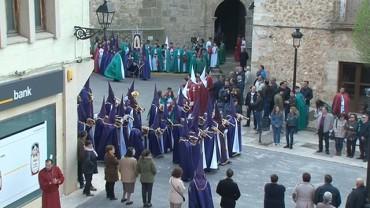 Procesión del Santo Abrazo, El Bonillo 15 de abril de 2017