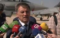 La Base Aérea recibirá 32 Eurofighter al mando del Coronel Pablos Chi