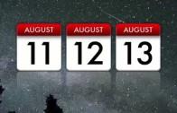 Agosto, mes de las Perseidas