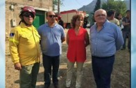 "Agustín Moreno, ""paseante"" por el incendio de Yeste"