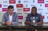 Bela, presentado de manera oficial con el Albacete Balompié