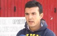 Cristian Pérez, en huelga de hambre por no participar en la Feria
