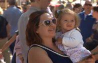 Gente en Feria 11 de Septiembre de 2017