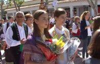 Multitudinaria Ofrenda de Flores a la Virgen de los Llanos
