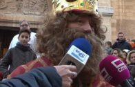 Primera parada en la capital de sus majestades los Reyes Magos