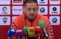 Acuña, posible titular ante el Oviedo