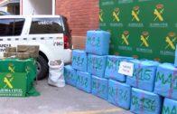 La Guardia Civil interviene 540 kilos de hachís en la A43
