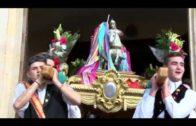 Procesión en honor a San Jorge en Madrigueras