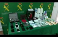 La Guardia Civil desmantela un laboratorio de cocaína en La Roda