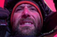 El alpinista vasco Álex Txikon visita la capital