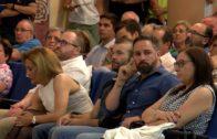Santiago Abascal llena el Auditorio del Ensanche