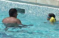 Plaga de avispas en las piscinas de las pedanías