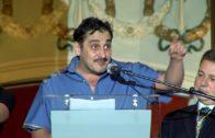 El productor y director Gabriel Olivares, pregonaba anoche la Feria de Albacete