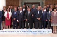 Junta y UCLM rubrican el acuerdo marco de financiación