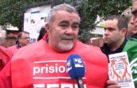 Los funcionarios de prisiones vuelven a salir a la calle para reivindicar sus derechos