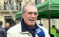 Vox Albacete recluta afiliados en la plaza Gabriel Lodares