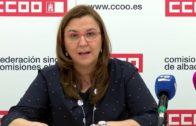 Candidata de CC.OO en Albacete a las elecciones sindicales del SESCAM