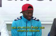 El Albacete Balompié pone fin a las presentaciones con el centrocampista ghanés Sulley Muntari