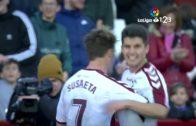 El Albacete se agarra al liderato (2-0)