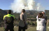 Controlado el incendio forestal en Paterna del Madera