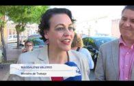 Daniel Sancha presenta su candidatura arropado por la ministra de Trabajo