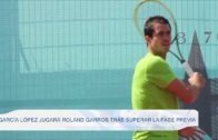 García López jugará Roland Garros tras superar la fase previa