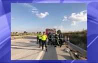 Accidente múltiple con varios heridos en La Roda