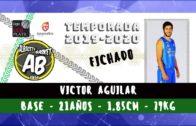 Víctor Aguilar vestirá la camiseta del Albacete Basket