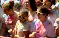 Albacete acogió la fiesta del color a favor de ACEPAIN