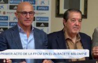 Primer acto de la FFCM sin el Albacete Balompié