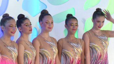Actuación del Club de Gimnasia Estética de Chinchilla