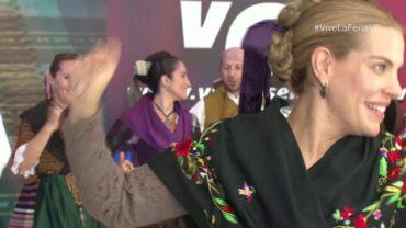 Actuación del Grupo de Folklore Abuela Santa Ana