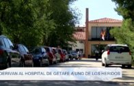 Derivan al hospital de Getafe a uno de los heridos