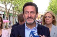 Edmundo Bal (C´s) visita la feria de Albacete