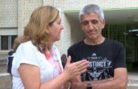 La consejera de educación visita el colegio de San Antón
