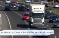 Las exportaciones Albaceteñas repuntan un 14%