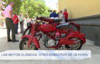 Las motos clásicas. otro atractivo de la feria