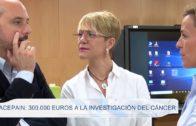 Acepain: 300.000 euros a la investigación del cáncer