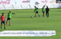 El Albacete Balompíe se enfrenta al líder de La Liga