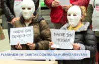 Flashmob de Cáritas contra la pobreza severa