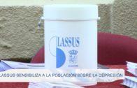 Lassus sensibiliza a la población sobre la depresión