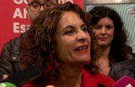 Montero hace un llamamiento contra la abstención el 10-N