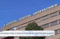 Una banda roba 20 endoscopios en el hospital de Albacete