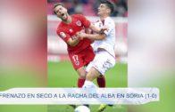 Frenazo en seco a la racha del Alba en Soria (1-0)